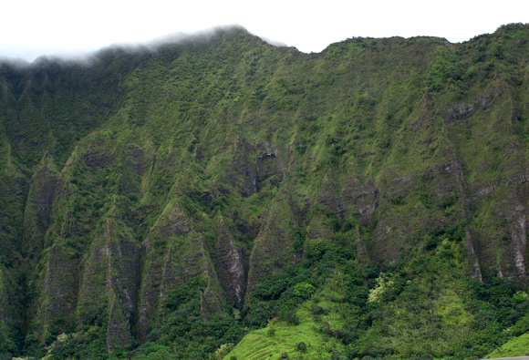 Koolau Mountain, Oahu, City & County of Honolulu, Hawaii, photo by Patrick (Pat) Michael McNally
