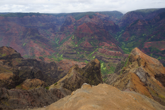 Waimea Canyon, Island of Kauai, Kauai County, Hawaii, photo by Patrick (Pat) Michael McNally